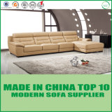 High Quality Leather Upholstered Corner Sofa