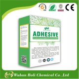 Wallpaper glue and wallpaper glue powder