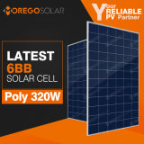 China Top 10 Manufacture 6bb Solar Cells Product 300W 320W Solar Panel