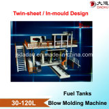 Twin Sheet Blow Molding Machine for Euro 6 Standard Fuel Tanks