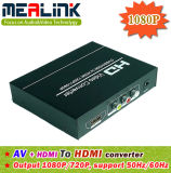 Factory Price AV+HDMI to HDMI Converter (1080P)