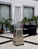 Patio Heater Stand Stainless Steel Square Pyramid Heater