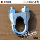 Galvanized Steel Malleable Iron DIN 741 Type Wire Rope Clip