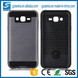 Wholesale Brush Satin Mobile Phone Cover for Samsung Galaxy J7