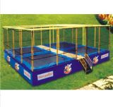 2017 Hot Sell Fitness Equipment Customized Trampoline Bungee
