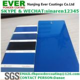 Smooth Glossy Signal Blue Color Ral5005 Powder Coating