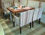 Laminated Wood Dining Table and Chair for Restaurant