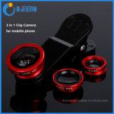 3 in 1 Fisheye + Wide Angle + Macro Phone Photo Zoom Lens Set for iPhone 6