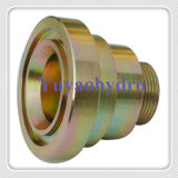 SAE Single Part Flange Fittings with 24&Deg
