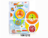Plastic Toy Cartoon Baby Toy Key with Music and Light (1061212)