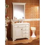 Oppein Bohemia Romantic Ivory White MDF Bathroom Cabinet (OP-P193-IIX)