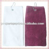 100% Cotton Golf Towel with Accessories Bag