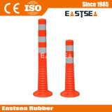 Orange Color PU Road Flexible Spring Post (DH-FP-80)