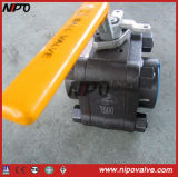 Forged Steel Thread Butt-Welded Floating Ball Valve