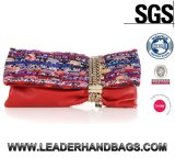 Made in China Wholesale Woman Clutches Leather Handbag (LDO-15767)