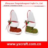 Christmas Decoration (ZY16Y016-1-2 14CM) Christmas Fancy Holder Gift Ornament Craft