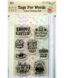 Clear Stamps with Tags
