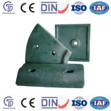 Wear Resistant Lining Plate for Ball Mill