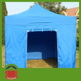 Blue Color Folding Gazebo Tent with Door