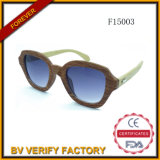 New Style Big Frame Bamboo Arms Sunglasses F15003