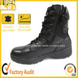 Black Police Tactical Safety Boots