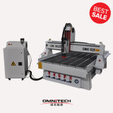 Omni 1325 CNC Router Machine with Italy Hsd Aircooling Spindle and High Power Motor for Woodowrking