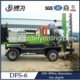 800mm Hole Diameter 6-11m Depth Spiral Ground Hole Drilling Machines