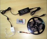 SMD5050 RGB Flex LED Strip Light Kit/Set (DIY Color, Remote Control) CE & RoHS