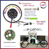 Magicpie 5th Generation 24V/36V/48V 250W/500W/1000W Electric Wheel Hub Motor, Electric Bicycle Motor, Electric Bicycle Motor