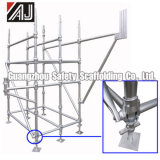 Q235 Galvanized Steel Layer Scaffolding System, Guangzhou Manufacturer