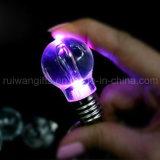 Bulb Shaped LED Keychain Light (LKC014)