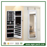 Wall Hanging Storage Cabinet with Dressing Mirror