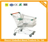 Supermarket Trolley Hand Truck Shopping Cart in Asian Style