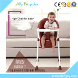 Wholesale Adjustable Leg Steel Baby Dinner Seat Feeding High Chair