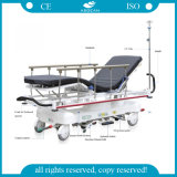 Ce and ISO Approved Four Function Hospital Ambulance Wheelchair Stretcher