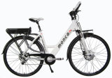 White Color 250W Front Motor Motorized Electric Bike E Bicycle Scooter City Style 100km Tourney