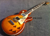 Factory Handmade Light Tabacco Hh Pickups Lp Standard Electric Guitar All Color Accept