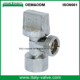 OEM&ODM Quality Brass Chrome Angle Valve with Plastic Handle (AV3012)