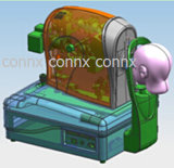 Connx Design & Prototyping Double Injection 2k Injection Industrial Design Medical Design&Device Rapid-Prototyping Mock-up Free Design