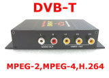 HD Digital TV Tuner Receiver MPEG-4 Car DVB-T with Dual Tuner