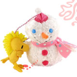 Cute Snowman Stuffed Gift Plush Toy (TPJR0266)
