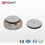 Heavy Duty on-Metal NFC Token - Ntag216 - White - 30mm with Hole