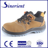 Nubuck Leather PU Injection Industrial Safety Work Shoes