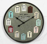 Wholesale Home Decoration Antique Metal Clock