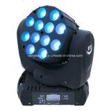 CREE 12 10W LED Beam Moving Head Wash Effect/Disco/DJ Lighting