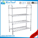 Stainless Steel Robust Construction Square Tube Temp Device Shelf