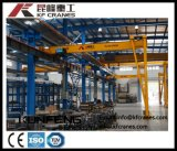 Steel Semi-Gantry Crane with One Leg Used in Inside and Outside