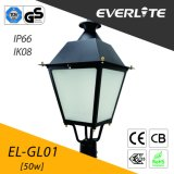 Everlite 50W LED Garden Lamp with IP66 Ik08