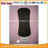 Ultra Thin Soft 155mm Black Panty Liner for Ladies