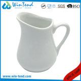 Wholesale White Porcelain Buffet Milk Pitcher Jug